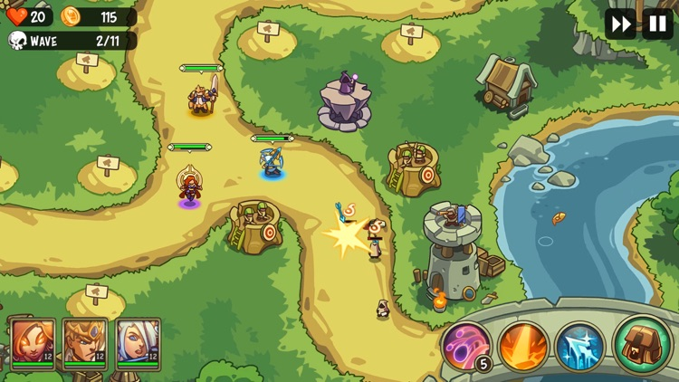Empire Warriors: Tower Defense screenshot-6