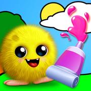 幼儿游戏: 画画游戏-儿童涂鸦涂色画画板 !