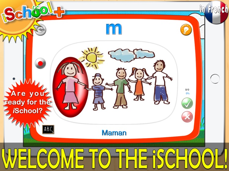iSchool+ for French Language!