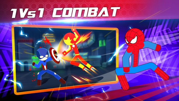 Super Stickman Heroes Warriors screenshot-0