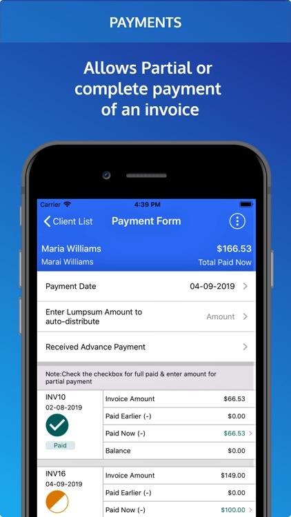 Invoice Pro. Invoice on the go screenshot-4
