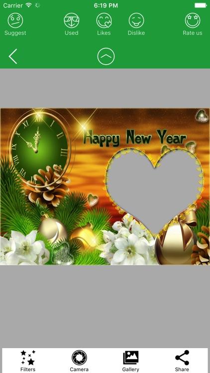 2020 Happy New Year Frames HD screenshot-7