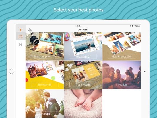 Popcarte -Send real postcards screenshot