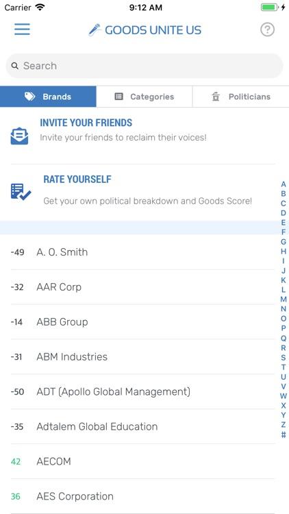 Goods Unite Us - Vote 365 screenshot-4