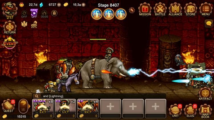 Metal Slug Infinity: Idle Game screenshot-5