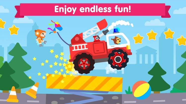 Car games for kids & toddlers! screenshot-3