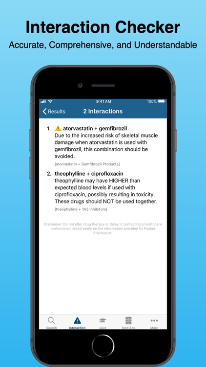 Pocket Pharmacist - Drug Info screenshot-3