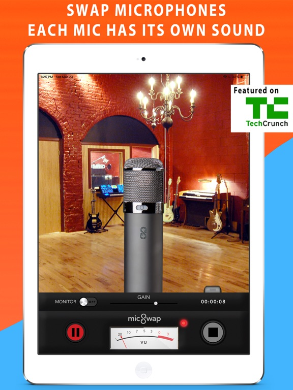 MicSwap: Mic Emulator & Recorder screenshot