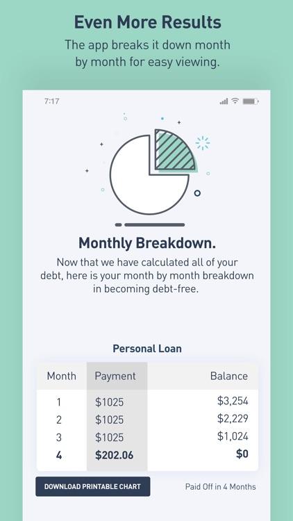 Debt Snowball Calculator screenshot-3