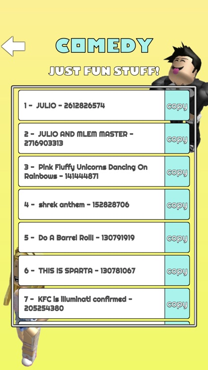 Music Codes for Roblox Robux screenshot-6
