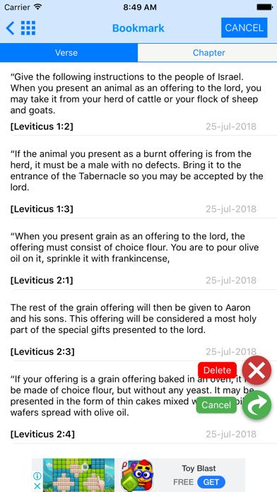NLT Bible - OfflineScreenshot of 10