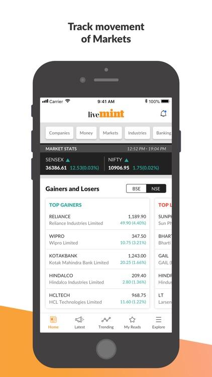 Mint Business News screenshot-3