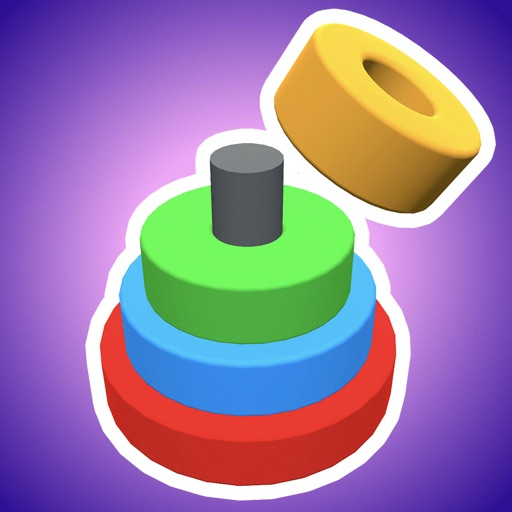 Color Circles 3D icon