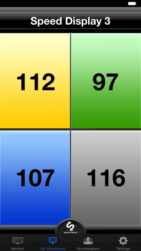 SkipTraq Scoreboard App 截图