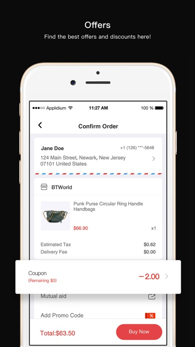 Passfeed-local shopping app