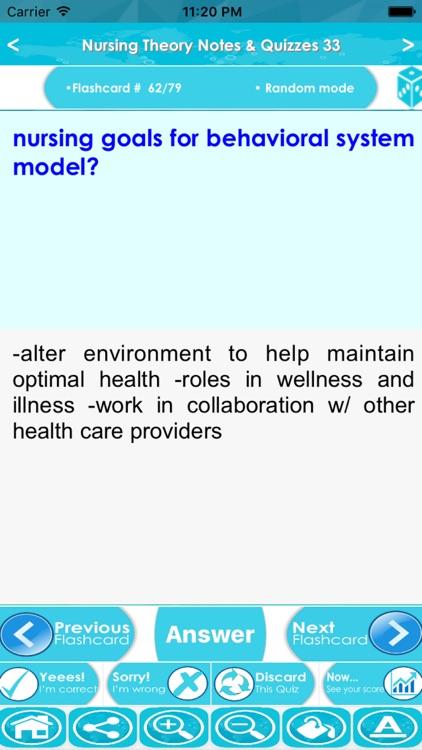 Nursing Theory Exam Review App screenshot-3