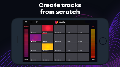 U Beats: Beat Maker & Drum Pad Screenshot