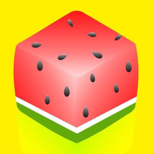 Fruits Puzzle: color block fun iOS App