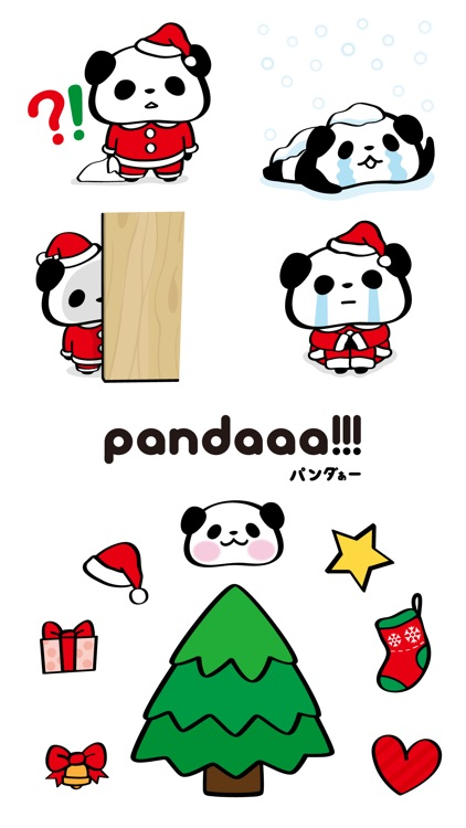 Pandaaa!!! Xmas Stickers screenshot-4