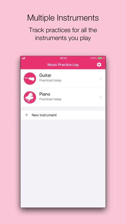 Music Practice Log screenshot-4