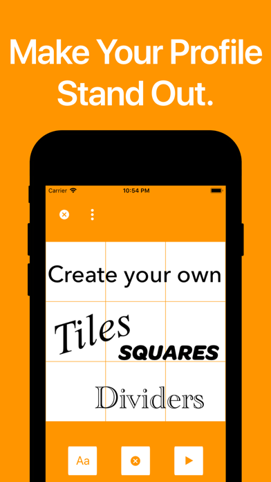 Profile Tile Maker screenshot 1