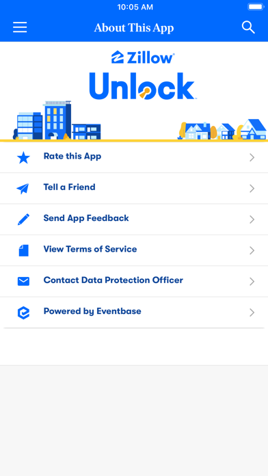 Zillow Events screenshot three