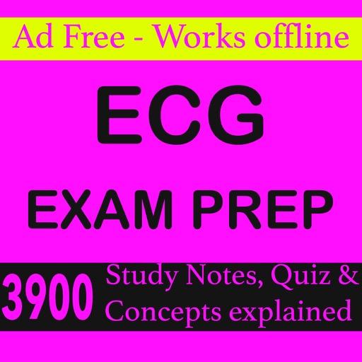 ECG Exam Prep-3900 Study Notes iOS App