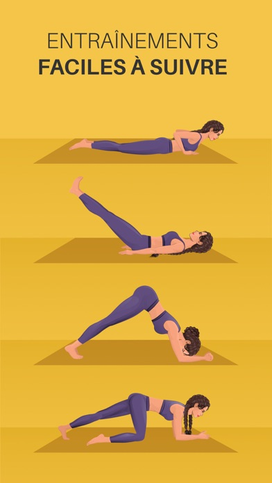 Screenshot for Yoga-Go: Perdre du poids in France App Store