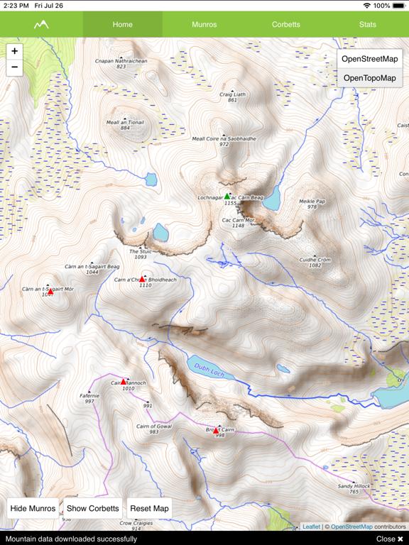 Munro Map screenshot 5