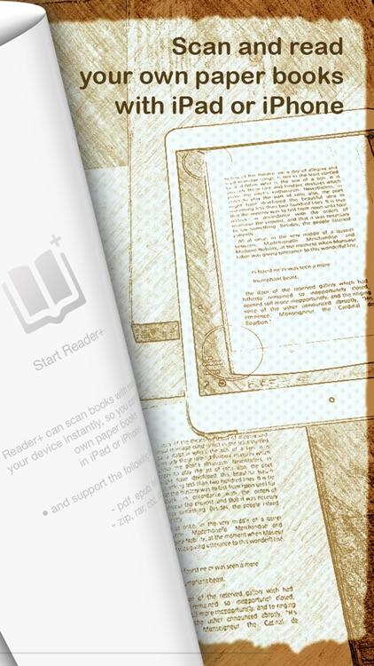 Reader+ : Scan & Read Books