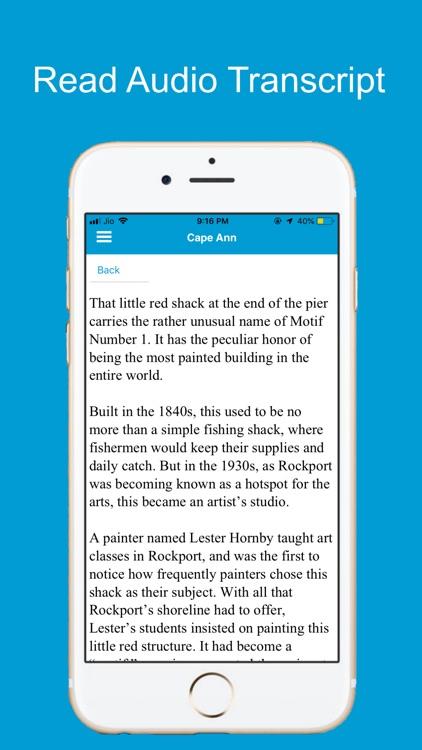 Cape Ann Gloucester Tour Guide screenshot-5