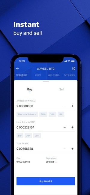 Waves Wallet & crypto exchange on the App Store