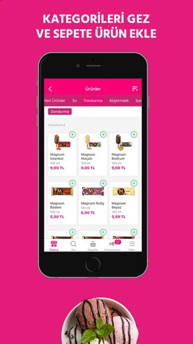 Screenshot for Yemeksepeti: Yemek & Market in Turkey App Store