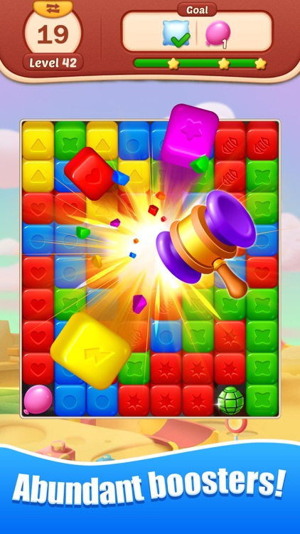 Toy Bomb: Pop Cube Blast Mania screenshot-2
