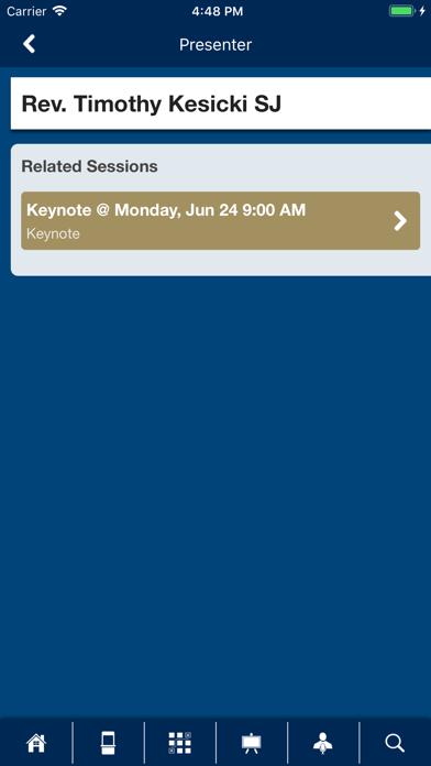 PIM Conferences screenshot four