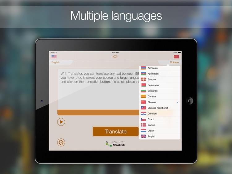 Translate Translator!! HD screenshot-3