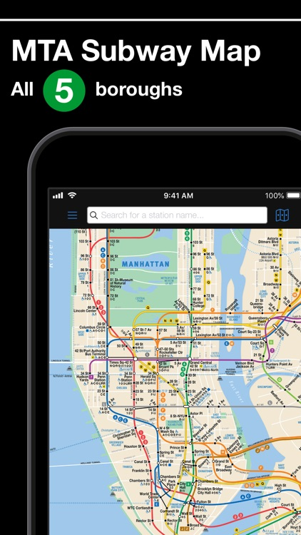 New York Subway MTA Map screenshot-0