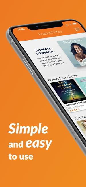 best audiobook app for iphone 6