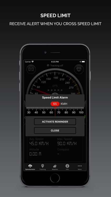 Smart GPS Speedometer screenshot-2