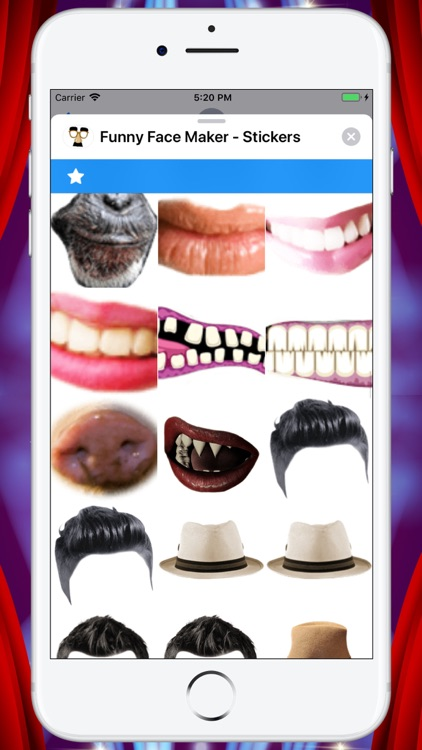 Funny Face Maker - Stickers screenshot-6
