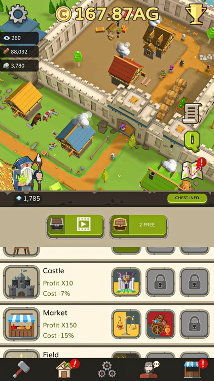 Medieval: Idle Tycoon Clicker screenshot-6
