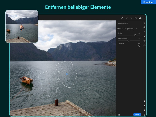 Adobe Lightroom for iPad Screenshot