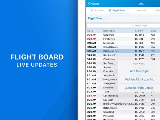 The Flight Tracker Pro Screenshots