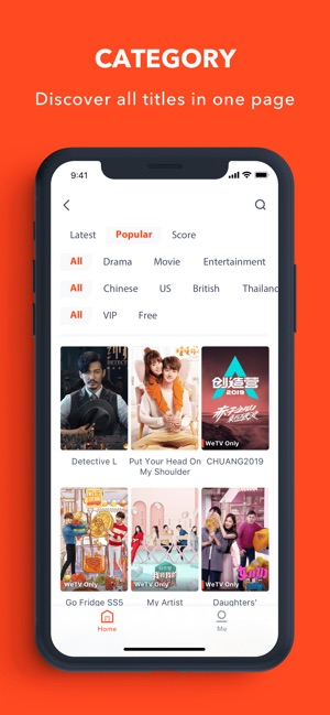 WeTV - Dramas, Films & More on the App Store