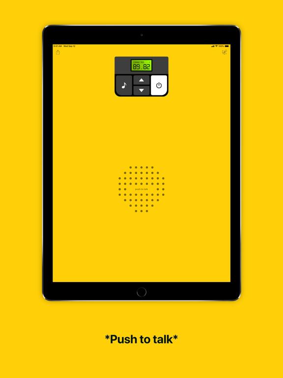iPad Image of Walkie-talkie - COMMUNICATION