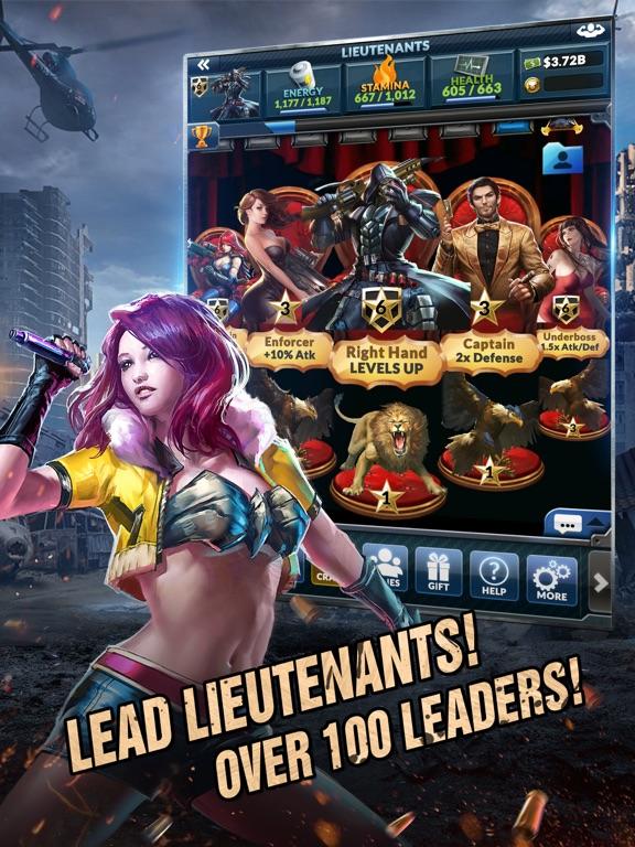 Underworld Empire iPad app afbeelding 2