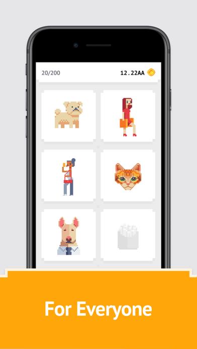 Idle Pixel Art Coloring Book screenshot 5