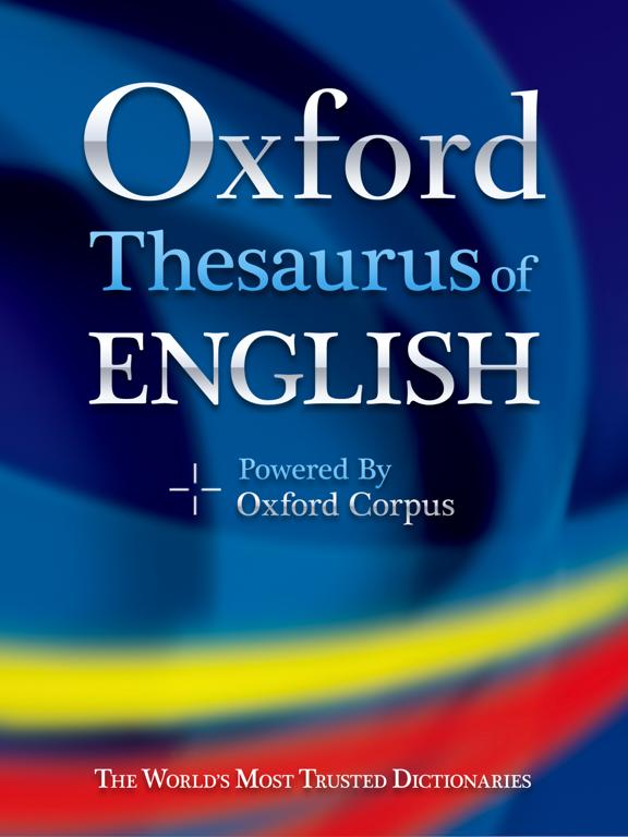 オックスフォード英英類語辞典のおすすめ画像1