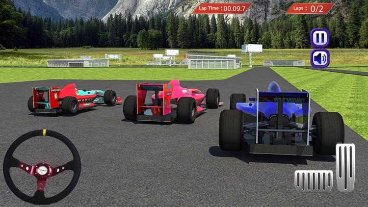 Furious Formula Racing Car