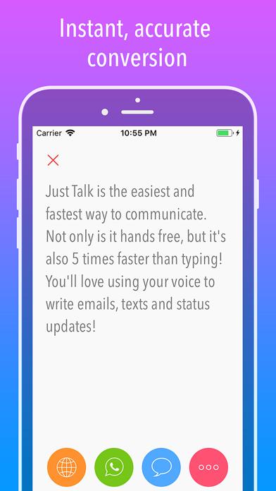 Just Talk! Screenshots